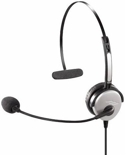 Hama 40625 2.5 mm jackplug Telefoonheadset Zilver, Zwart