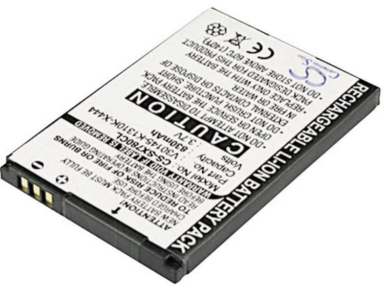 Accu voor draadloze telefoon Gigaset S30852-D2152-X1 Geschikt voor merk: Gigaset Li-ion 3.7 V 750 mAh