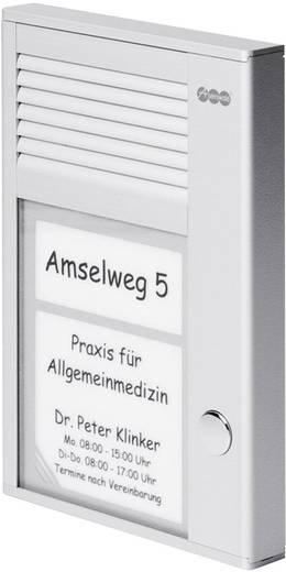 Auerswald 90617 Complete set voor Deurintercom Kabelgebonden 1 gezinswoning Zilver
