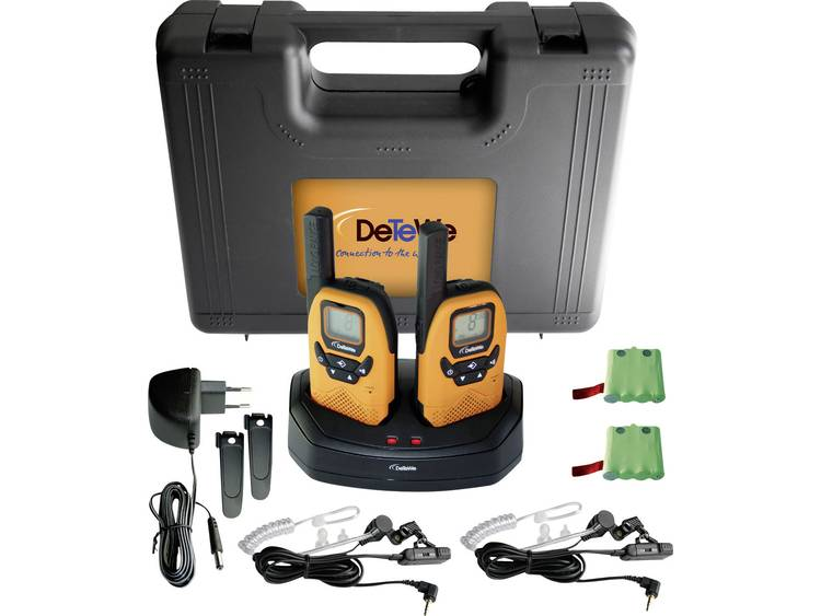DeTeWe DeTeWe PMR portofoon Outdoor 8000 Duo Case koffer 208046 PMR 8000 Duo Case