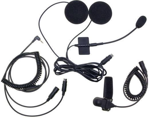 Stabo MHS-650 50113 Headset met microfoon Geschikt voor (helm): Universeel