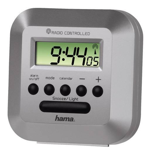 Wekker Zendergestuurd Zilver Alarmtijden: 1 Hama 00113936