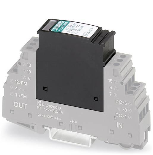 Phoenix Contact PT 1X2-12DC/FM-ST 2920065 Insteekbare overspanningsafleider Set van 10 Overspanningsbeveiliging voor: Ve