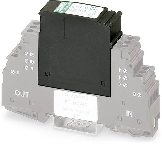 Phoenix Contact PT 1X2-5DC-ST 2856016 Insteekbare overspanningsafleider Set van 10 Overspanningsbeveiliging voor: Verdeelkast 10 kA