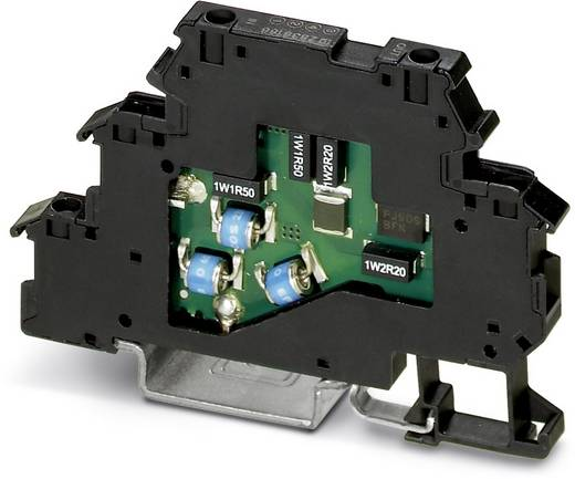 Phoenix Contact TT-2-PE-110AC 2858483 Overspanningsveilige beschermklem Set van 10 Overspanningsbeveiliging voor: Verdeelkast 5 kA