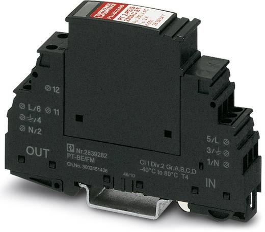 Phoenix Contact PT 2 +1-S-48DC/FM 2817958 Overspanningsafleider Set van 10 Overspanningsbeveiliging voor: Verdeelkast 0.5 kA