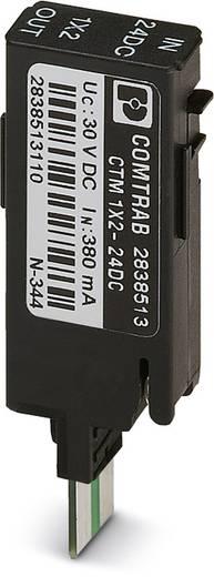 Phoenix Contact CTM 1X2- 12DC 2838597 Overspanningsveilige stekker Set van 10 Overspanningsbeveiliging voor: Verdeelkast, Netwerk (LSA)