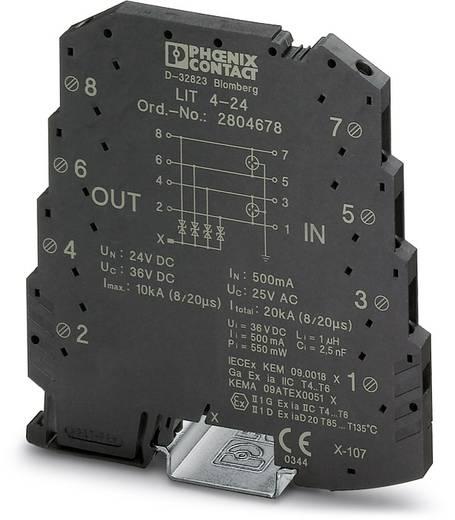Phoenix Contact LIT 4-24 2804678 Overspanningsafleider Set van 10 Overspanningsbeveiliging voor: Verdeelkast 0.25 kA