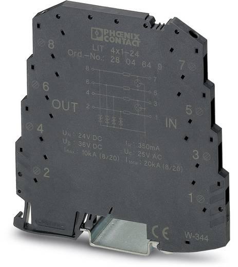 Phoenix Contact LIT 4X1-24 2804649 Overspanningsafleider Set van 10 Overspanningsbeveiliging voor: Verdeelkast 5 kA