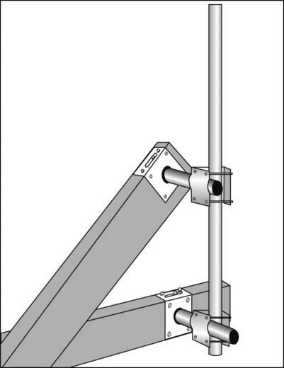 Mastklem A.S. SAT 51020 Geschikt voor mast- Ø (max.): 60 mm