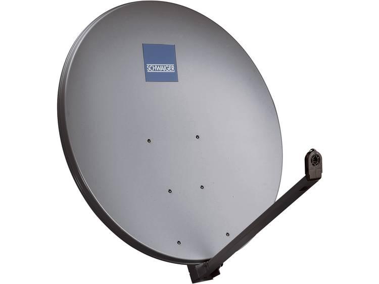 Schwaiger-satellietschotel aluminium 100 cm antraciet- topkwaliteit 10 jaar garantie