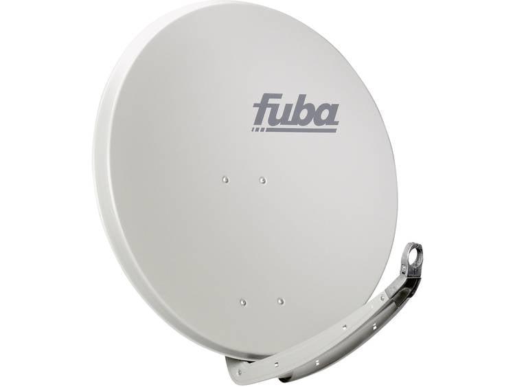 Fuba-satellietschotel aluminium 85 cm lichtgrijs - premium kwaliteit - 15 jaar garantie