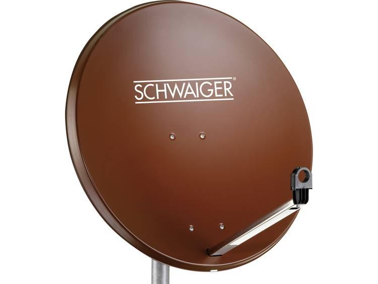 Schwaiger SPI996.2 Satellietschotel 80 cm Reflectormateriaal Staal Steenrood