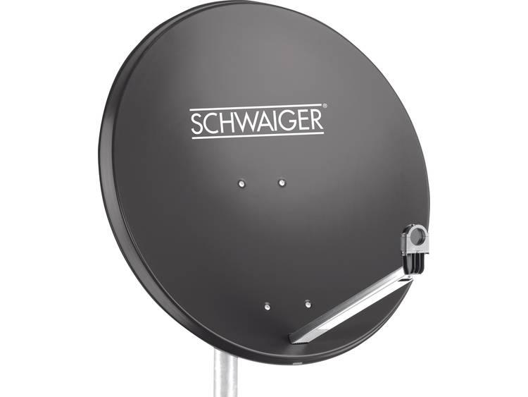 Schwaiger SPI996.1 Satellietschotel 80 cm Reflectormateriaal Staal Antraciet