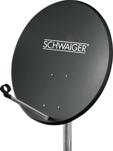 Schwaiger satellietinstallatie voor 1 satelliet -satellietschotel 60 cm, antraciet, LNB - 1 aansluiting