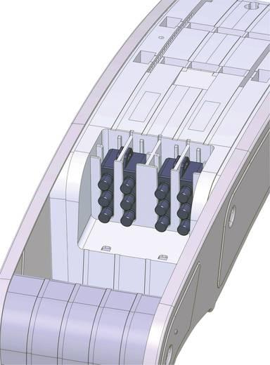 fuba DAA85N-R Satellietschotel 85 cm Reflectormateriaal: Aluminium Steenrood