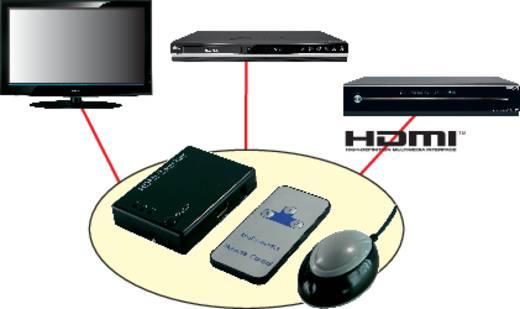 HDMI-switch 3 poorten met ingebouwde repeater N/A LogiLink HD0003