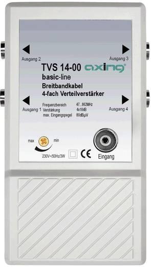 TVS 14 4-voudige verdeelversterker Frequentiebereik: 47 - 862 MHz