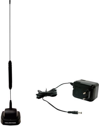 TELESTAR STARFLEX T4 PLUS DVB-T STAAF-ANTENNE MET 15 DB VERSTERKER PLUS NETVOEDING