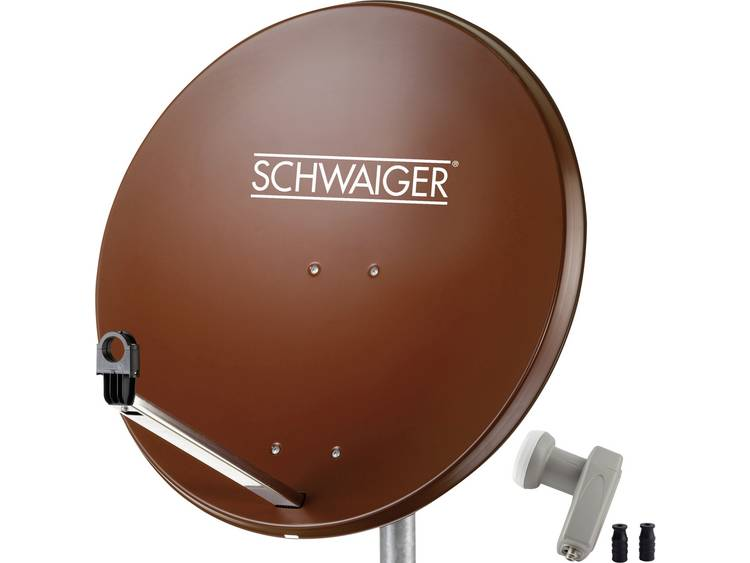 Satellietset zonder receiver 2 Schwaiger SPI9962SET2 80 cm