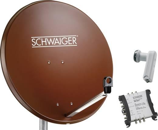 Satellietset zonder receiver 6 Schwaiger 80