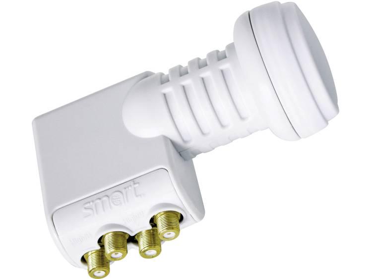 Smart Titanium quad-LNB digitaal met switch