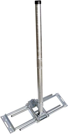 A.S. SAT 51505 Satelliet-dakbeugel Geschikt voor schotelgrootte: Ø 100 cm Kantelbaar Zilver