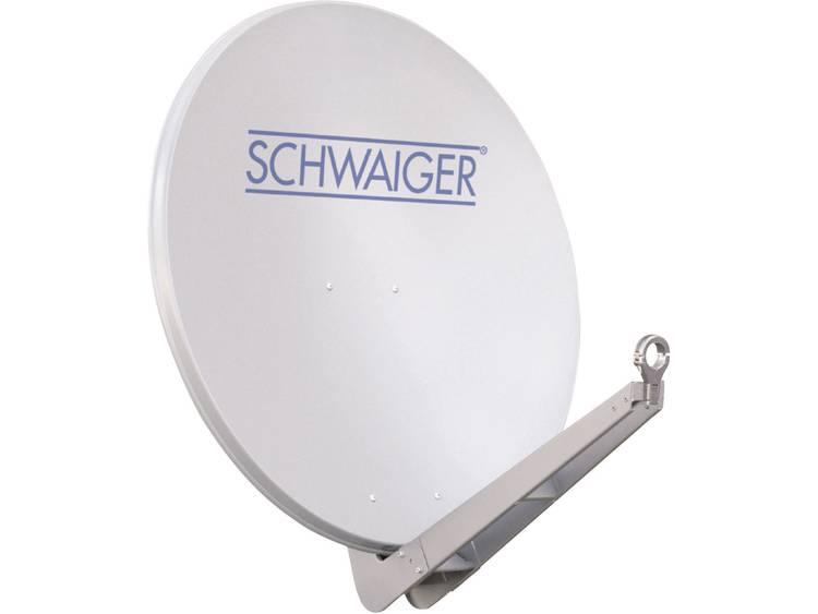 Schwaiger SPI085 Satellietschotel 85 cm Reflectormateriaal: Aluminium Lichtgrijs