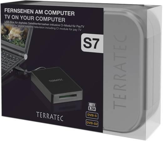 DVB-S TV USB-ontvanger Terratec Cinergy S7 DVB-S2 Met afstandsbediening, Opnamefunctie