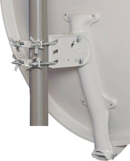 Humax satellietschotel geheel aluminium 90 cm, lichtgrijs - professionele kwaliteit - 20 jaar garantie