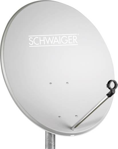 Schwaiger 42 cm satellietschotel lichtgrijs