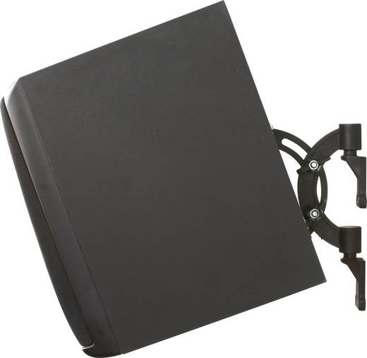 B-Tech BT1 Luidspreker-wandbeugel Kantelbaar, Zwenkbaar Zwart 1 paar