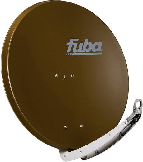 fuba DAA 850 B Satellietschotel 85 cm Reflectormateriaal: Aluminium Bruin