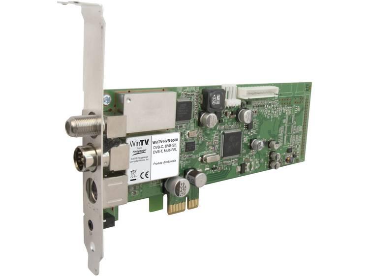 PCIe-kaart Hauppauge HVR-5525HD Opnamefunctie, Met afstandsbediening Aantal tuners: 2