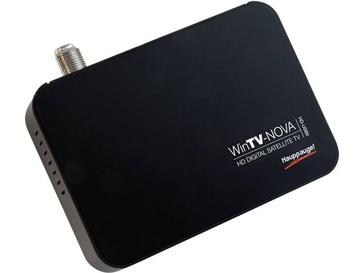 DVB-S TV USB-ontvanger Hauppauge WinTV NOVA HD USB2 Met afstandsbediening, Opnamefunctie Aantal tuners: 1