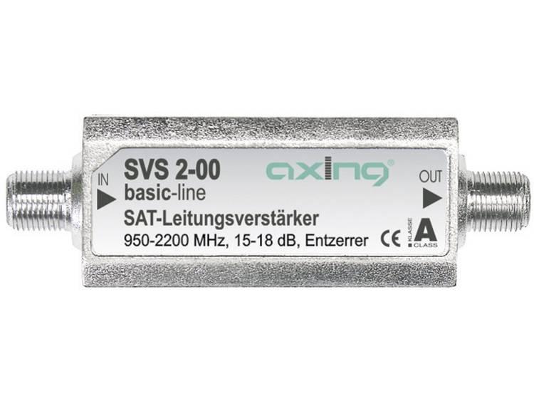 Axing SVS 2-00 SAT-inline-versterker 15-18 dB met correctie