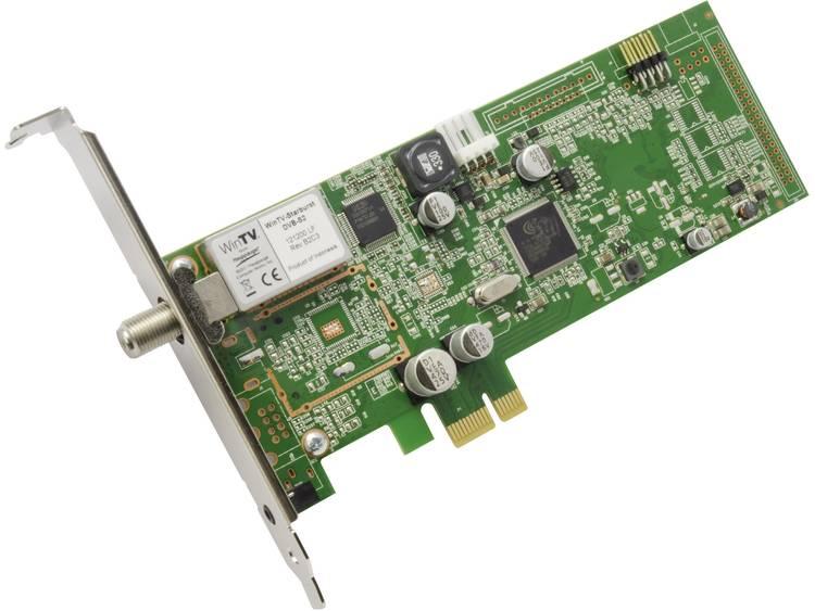 DVB-S PCIe-kaart Hauppauge WinTV-Starburst Met afstandsbediening, Opnamefunctie Aantal tuners: 1