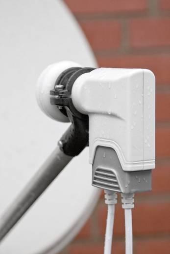 Goobay Universele Single-LNB Single-LNB Aantal gebruikers: 1 Feed-opname: 40 mm vergulden aansluiting