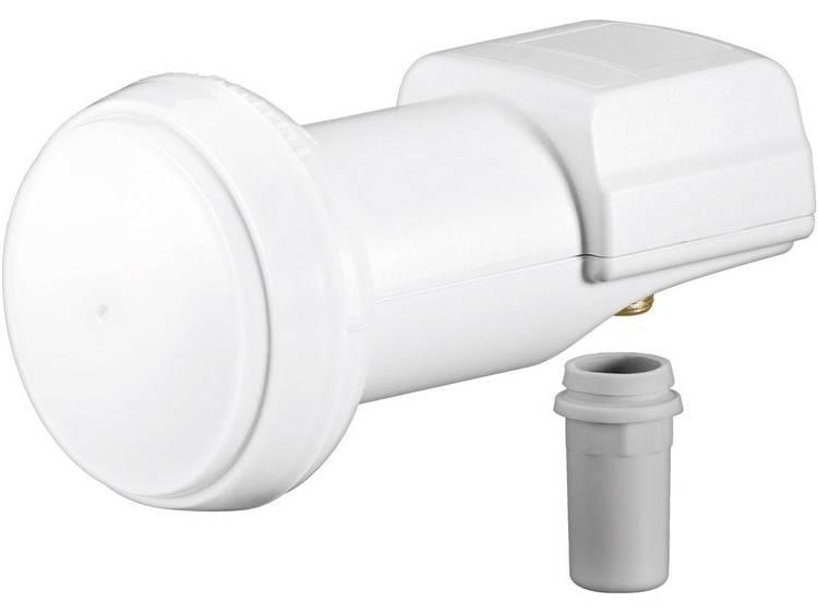 Goobay Universal Single-LNB Aantal gebruikers: 1 Feed-opname: 40 mm vergulden aansluiting