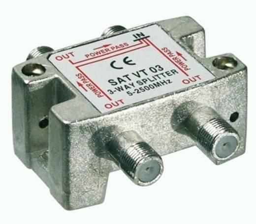 Goobay SAT VT 03 SAT-verdeler 3-voudig 5 -2450 MHz
