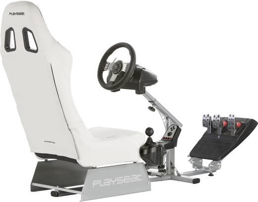 Playseats Evolution M White Silver Racestoel Wit-zilver