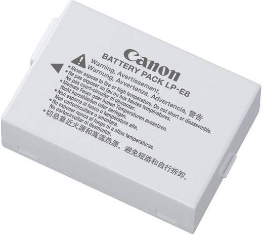 Canon Camera-accu Vervangt originele accu LP-E8 7.4 V 1080 mAh