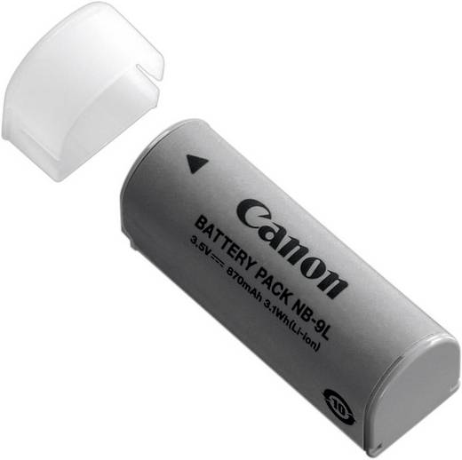 Canon Camera-accu Vervangt originele accu NB-9L 3.5 V 870 mAh