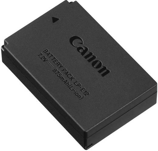 Canon Camera-accu Vervangt originele accu LP-E12 7.2 V 875 mAh