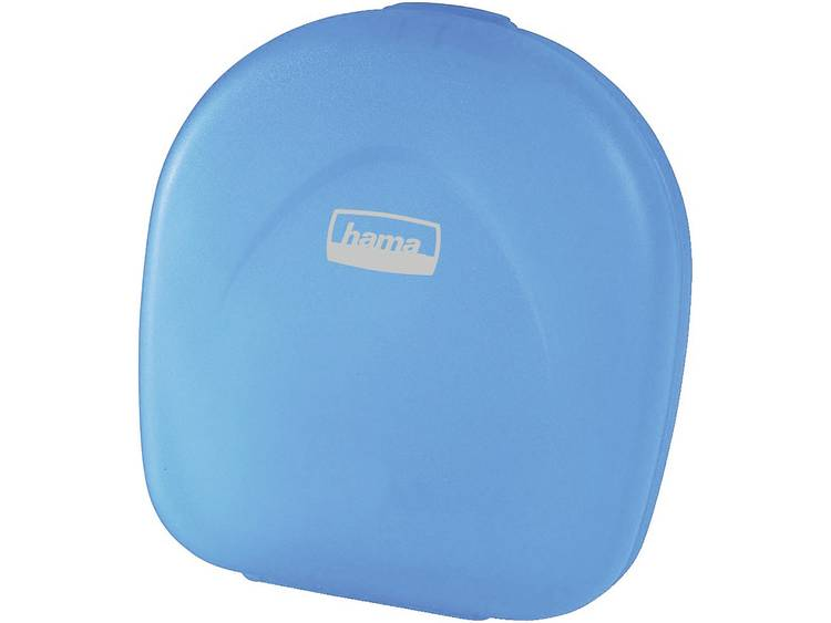 CD CASE 24 BLAUW TRANSPARANT