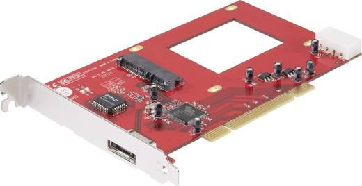1+1 poorten SATA II-controllerkaart PCI