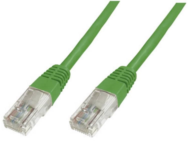 Netwerkkabel RJ45 CAT 6 S/FTP 0.25 m Groen Digitus Professional