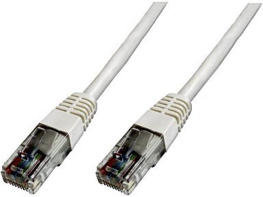 Digitus Professional RJ45 Netwerk Aansluitkabel CAT 5e U/UTP 0.50 m Wit UL gecertificeerd