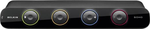 Linksys F1DD104Lea 4 poorten KVM-schakelaar DVI USB 2048 x 1536 pix