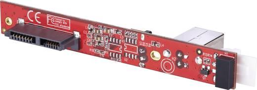Interface-converter [1x USB 2.0 bus B - 1x Slimline SATA-bus 7+6-polig] <b